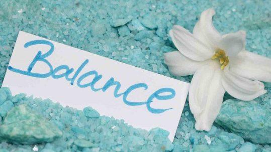 Balance blog