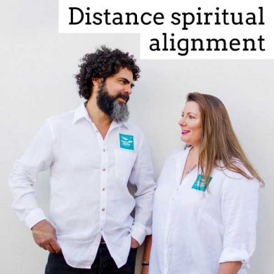 Distance spiritual alignment