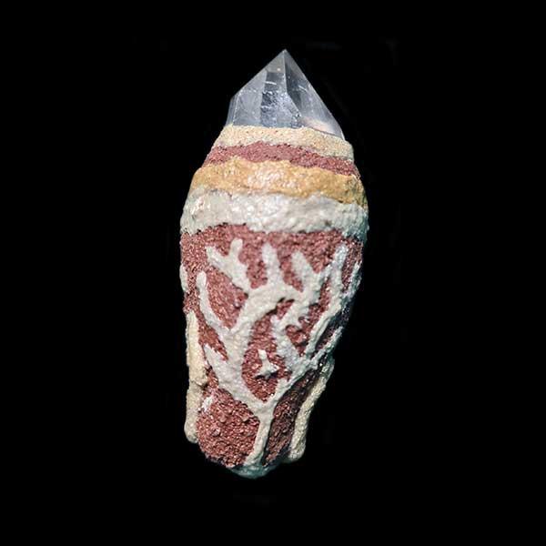 Clear quartz Kurradji wand