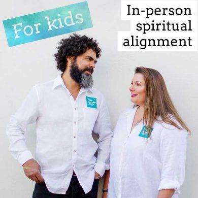 Spiritual alignment for kids