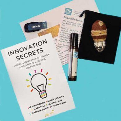 Crystal healing care bundle with Innovation Secrets